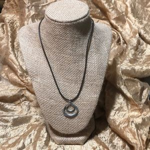 Fossil Leather Cord Necklace!